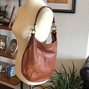 Leather Hobo Style bag from The Limited